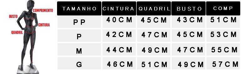 tabela de medidas oficial 2 t shirt folhas